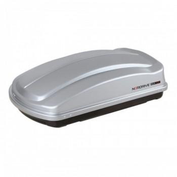 Box 330  - box tetto in ABS  - 330 litri - Grigio goffrato