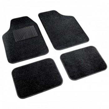 Cosmo  - serie tappeti in moquette universali  - 4 pz - Nero