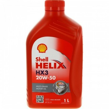 SHELL HELIX HX3 20W-50 1LT