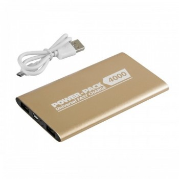 Power-Pack 4000 - Fast Charge - Oro