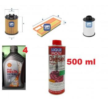 Filtro olio aria gasolio...