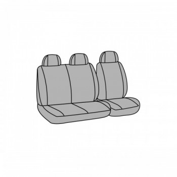 GRIGLIA ANTERIORE DESTRA CROMATA-CROMATA-NERA BMW SERIE 3 E46 01/>05